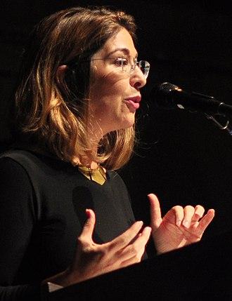 Naomi Klein - Image: Nation 150th in Seattle Naomi Klein 05A (22198412286) (2)