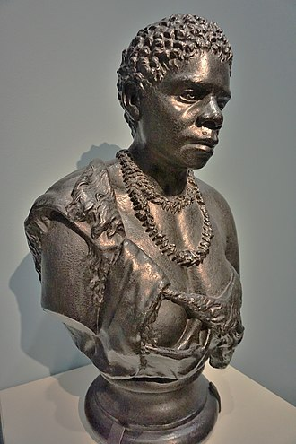 Truganini - Benjamin Law's 1835 bust of Truganini, commissioned by George Augustus Robinson