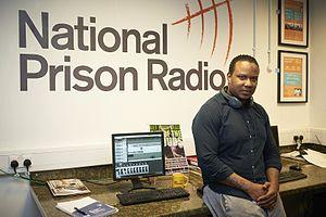 National Prison Radio - The National Prison Radio production suite inside HM Prison Brixton.