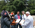 National Television of Bulgaria cover the meeting of the heads of Principality of Ongal and Principality of New Atlantis.jpg