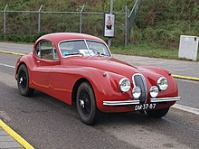 Jaguar XK120 Fixed Head Coupe