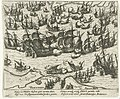 Naval battle with the Spanish Armada - Zeeslag met de Spaanse Armada.jpg