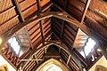 Nave ceiling, St Oswald's, Bidston.jpg