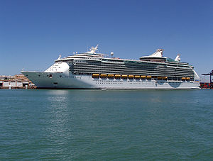 Navigator of the Seas at Cadiz, Spain, 2007.