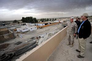Nawa-I-Barakzayi - US Deputy Defense Secretary overlooks Nawa