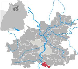 Neckarwestheim - Image: Neckarwestheim in HN