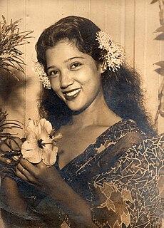 Nela Álvarez Filipina actress