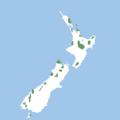 Nestor meridionalis -range -New Zealand.png