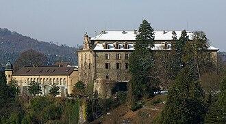 Margraviate of Baden - Image: Neues Schloss Baden Baden IMGP1164