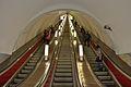 Nevsky Prospekt escalator Saint Petersburg Metro.jpg