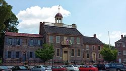 Old New Castle Courthouse.