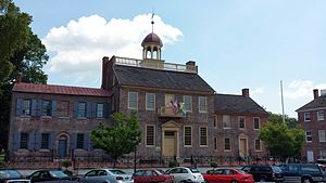 New Castle, Delaware - Old New Castle Courthouse.