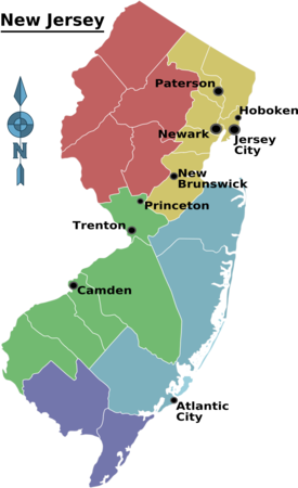 New Jersey – Travel guide at Wikivoyage
