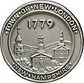 New London, NH, Town Seal Bronze by Vincent Schofield Wickham.jpg