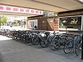 New Malden station cycle parking - geograph.org.uk - 1820905.jpg