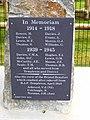 New War Memorial, Templeton - geograph.org.uk - 4360697.jpg
