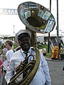 New Wave Brass Band - Gretna Louisiana Heritage Festival 2008.jpg