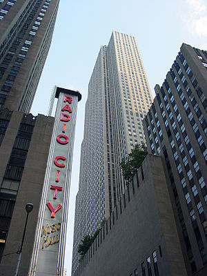 Radio City Music Hall in Manhattan, New York C...