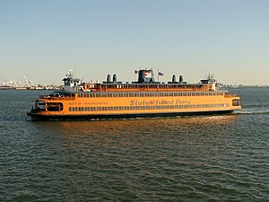 English: New York City - Staten Island Ferry D...