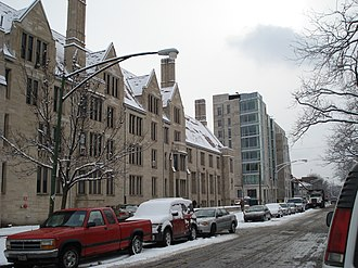 Housing at the University of Chicago - Burton-Judson Courts and Renee Granville-Grossman Residential Commons