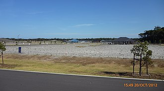 Fern Bay, New South Wales - New housing subdivision works at Fern Bay