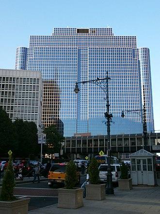 Newark Legal Center - The Newark Legal Center from Newark Penn Station