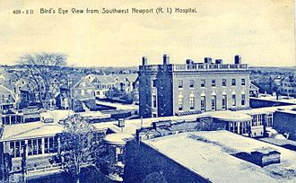 Newport Hospital - Newport Hospital at the turn of the 20th century