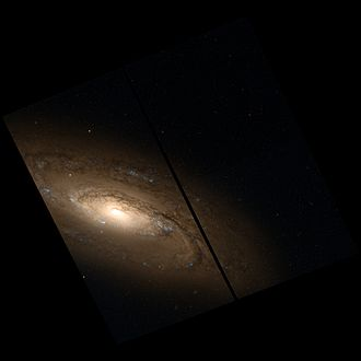 NGC 5005 - NGC 5005 imaged by the Hubble Space Telescope