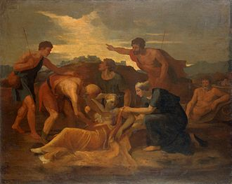 Radamisto (Handel) - Nicolas Poussin – Queen Zenobia Found on the Banks of the Araxes
