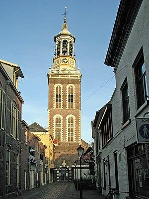 Nieuwe Toren, Kampen - Nieuwe toren Kampen before 2008 seen from the west