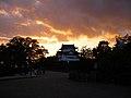 Nightfall at Nagoya Castle - panoramio.jpg
