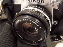 Nikon FG and series E 50mm lens.JPG