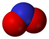 The nitrite anion (space-fillin model)