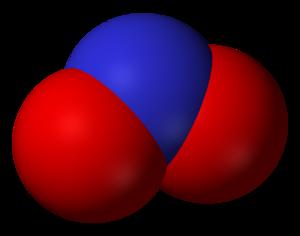 Sodium nitrite - Image: Nitrite 3D vd W