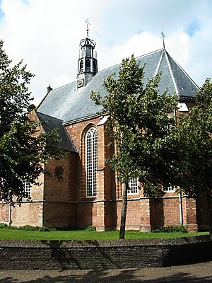 Bergen, North Holland - The Ruinekerk church