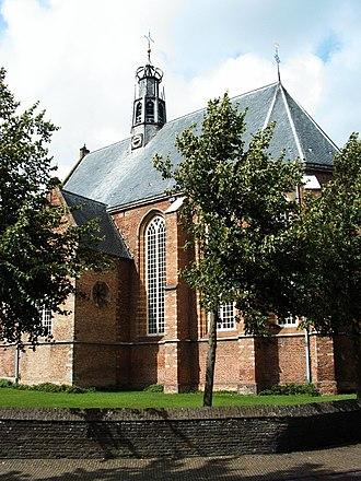 Bergen, North Holland - The Ruinekerk church