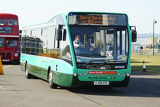 Stagecoach in Norfolk - Optare Versa in September 2009