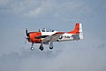 North American T-28B Trojan Navy N63NA Landing 03 TICO 13March2010 (14412925709).jpg