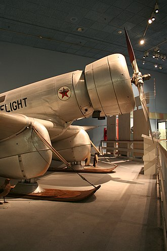 Northrop Gamma - Image: Northrop Gamma Right Front