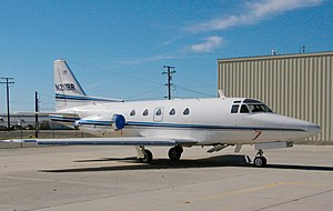 North American Sabreliner - NA-265-60 Series 60 Sabreliner at NTPS, Mojave