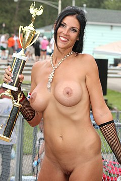 Miss nudist contestants