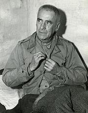 Nuremberg Trials defendant Wilhelm Frick in his cell 1945
