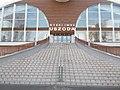 Nyéki Imre swimming pool, stairs, 2018 Albertfalva.jpg