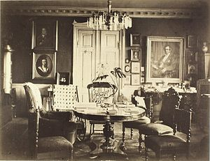Ny Bakkegård - Interior from the 1880s