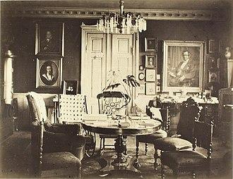 Ny Bakkegård - Interior from the 1880s