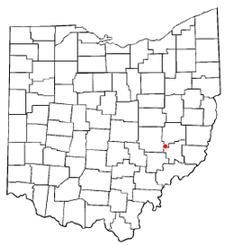 Location of Cumberland, Ohio