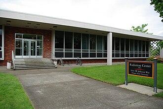 Oregon State University Radiation Center - Entrance to the Radiation Center