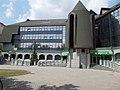 OTP Bank, Ősz street's branch, from W. - 13, Ősz street, Víziváros (lit. Watertown), Székesfehérvár, Fejér county, Hungary.JPG