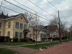 Distrito histórico de Oak Hill Park en Olean