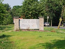 Oakland Mills High School sign.jpg
